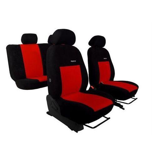 Pokrowce samochodowe ELEGANCE Czerwone Opel Corsa D 2006-2014 - Czerwony, 17357