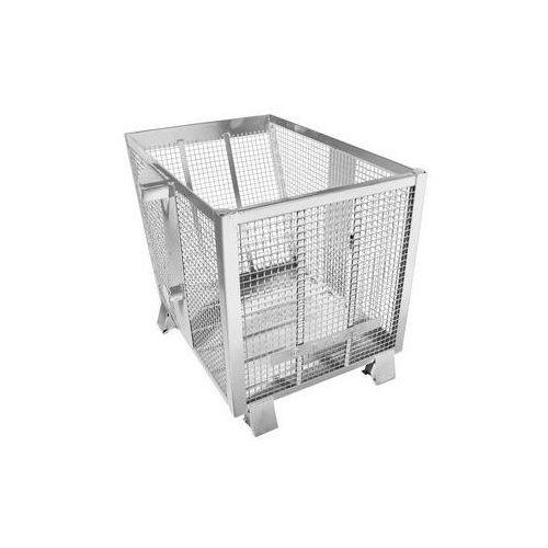 Hesonwerk Przechylny pojemnik kratowy,poj. 0,75 m³