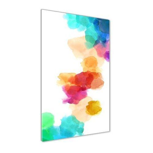 Foto obraz akryl do salonu kolorowe plamy marki Wallmuralia.pl