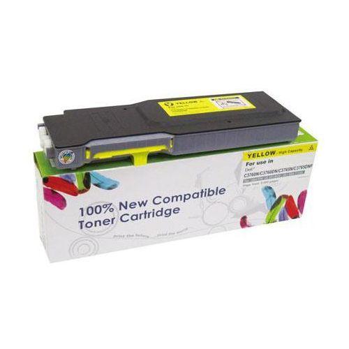 Toner CW-D3760YN Yellow do drukarek Dell (Zamiennik Dell MD8G4 / 593-11120) [9k]