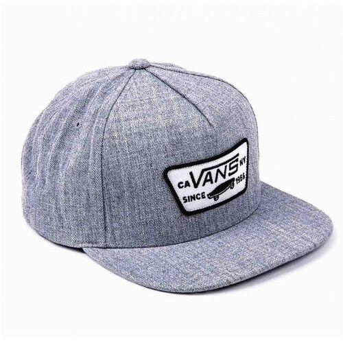 Czapka z daszkiem - full patch snapbac heather grey (htg) rozmiar: os marki Vans