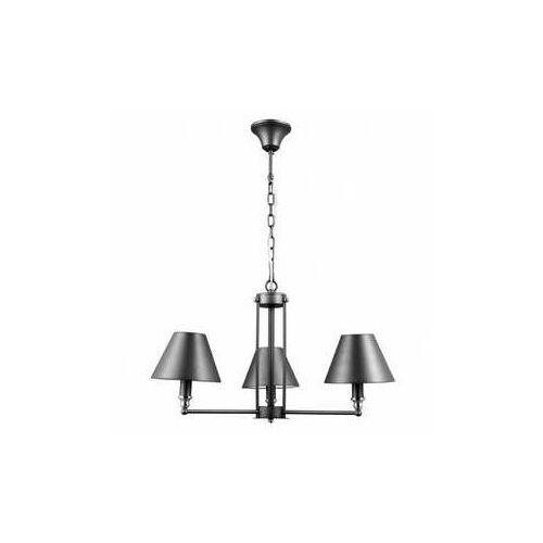 Lampa wisząca Banito 3 x 40 W E14 antracyt/grey/chrom, MD38623/3