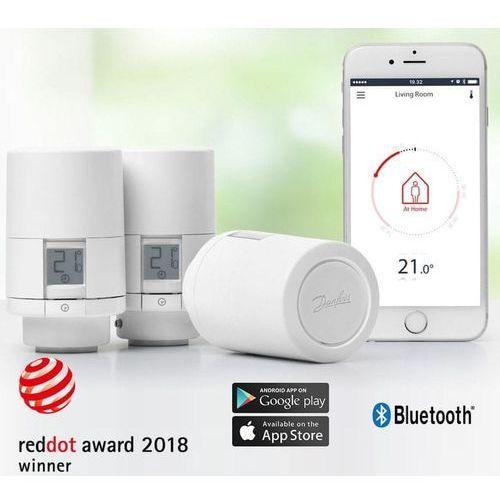 DANFOSS Eco Bluetooth, inteligentna głowica termostatyczna 3x, biała (8594158695482)