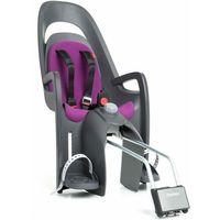 Fotelik Hamax Caress szaro-czarny, purpurowa wyściółka, kolor czarny