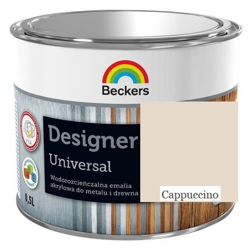 designer universal- cappuccino, 0.5 l (emalia akrylowa) marki Beckers