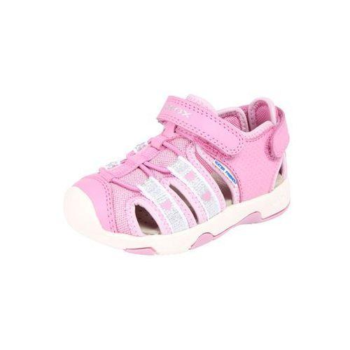 sandały dziewczęce multy 22 różowy marki Geox