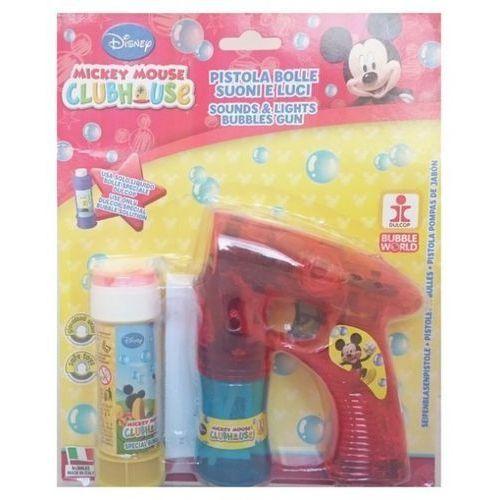 Duży pistolet do robienia baniek Mickey