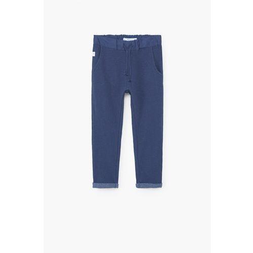 Mango kids  - spodnie dziecięce greeny 104-164 cm
