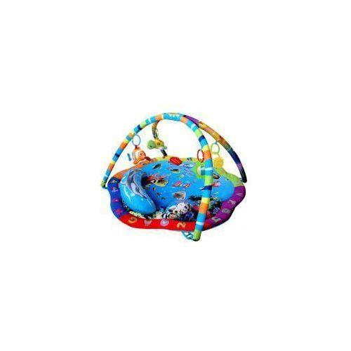 Mata edukacyjna ocean z poduszką i zawieszkami b05.016.1.1 marki Sun baby