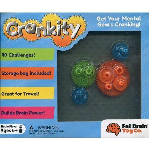 Crankity kółka zębate gra logiczna marki Fat brain toy