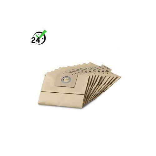 Worki papierowe (10szt) do T 12/1, Karcher ✔AUTORYZOWANY PARTNER KARCHER ✔KARTA 0ZŁ ✔POBRANIE 0ZŁ ✔ZWROT 30DNI ✔RATY ✔GWARANCJA D2D ✔WEJDŹ I KUP NAJTANIEJ