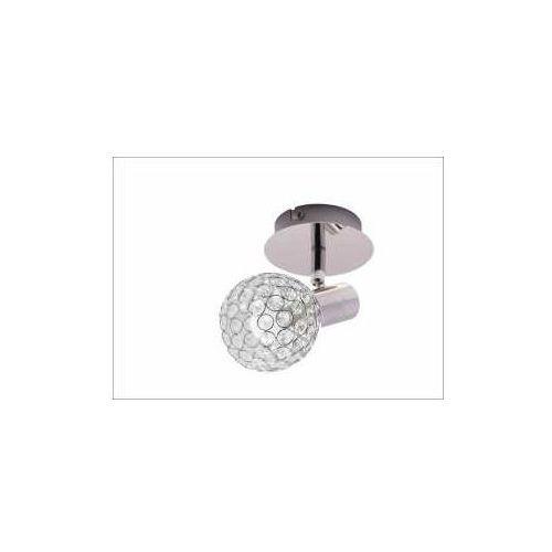 Krislamp Klara KR 322-1W kinkiet lampa ścienna spot 1x40W E14 chrom, KR 322-1W