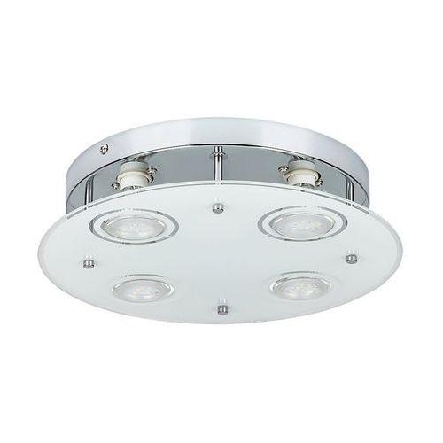 Plafon lampa oprawa sufitowa Rabalux Naomi 4x15W GU10 LED chrom 2513