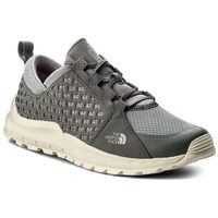 The north face Półbuty - mountain sneaker t932zukb8 zinc grey/griffin grey