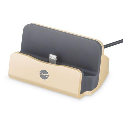 Stacja dokująca Forever iPhone DS-01 Gold (GSM023488) Darmowy odbiór w 21 miastach! (5900495504074)