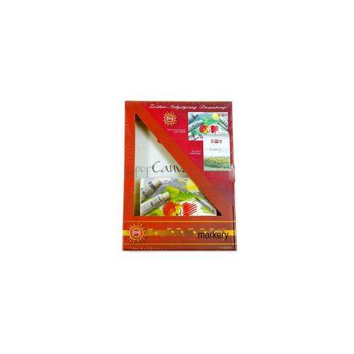 Koh-i-noor Zestaw do malowania farbami tempery + blok a4 -  (5902927310277)