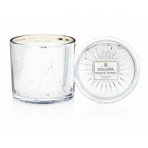 VOLUSPA świeca BRANCHE VERMEIL 1020G GRANDE - wosk kokosowy, trzy knoty (5900000050157)