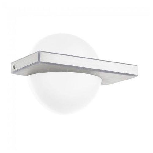Kinkiet Eglo Boldo 95771 lampa ścienna 1x11W LED biały/aluminium szczotkowane