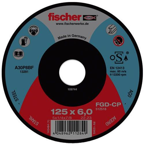 Fischer Tarcza do szlifowania fgd-cp 230x6x22,23 carbon (4048962112870)