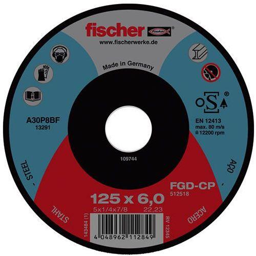Tarcza do szlifowania fgd-cp 125x6x22,23 carbon marki Fischer