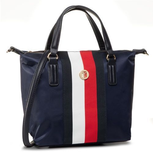 Tommy hilfiger Torebka - poppy small tote corp aw0aw08336 0gy