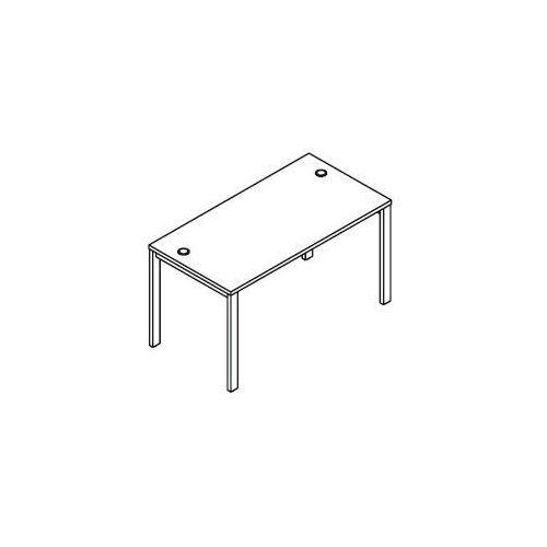 Svenbox Biurko proste bsa73 wymiary: 137x70x75,8 cm