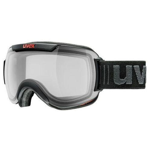 Gogle narciarskie fotochromowe z polaryzacją downhill 2000 vp x black marki Uvex