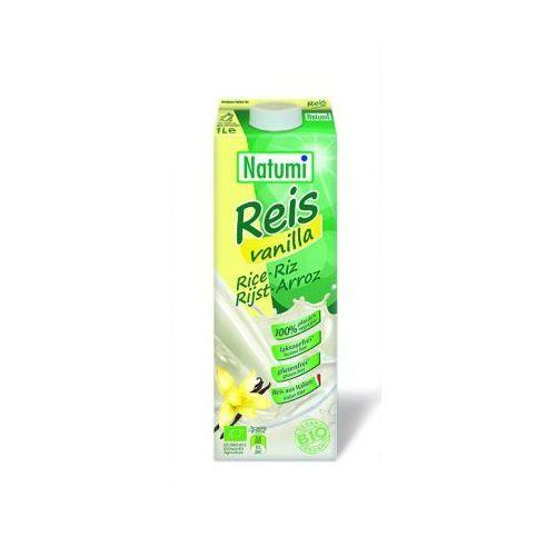 Natumi Przecena napój ryżowy waniliowy (bezglutenowy) bio 1 l