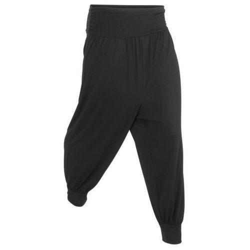 """Spodnie """"alladynki"""" czarny marki Bonprix"""