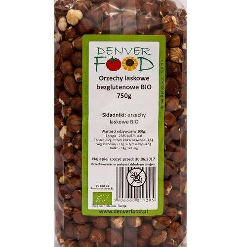 Orzechy Laskowe Bezglutenowe BIO 750 g Denver Food (5906660017295)