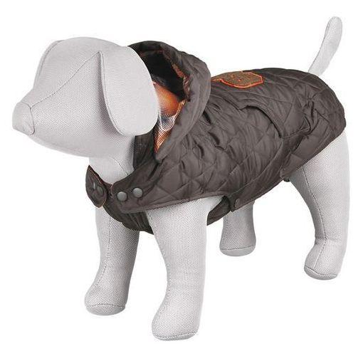 (bez zařazení) Ciepłe ubranko - kurtka z kapturem cervino brown - 30cm