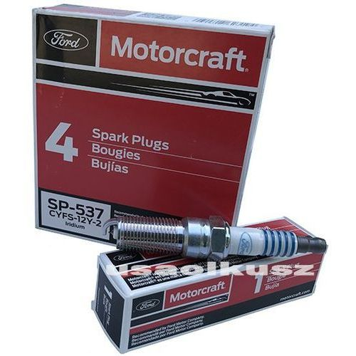 Świeca zapłonowa platynowa MOTORCRAFT SP537 Ford Explorer 2,0 / 2,3 Turbo EcoBoost