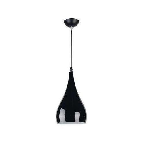 Lampa wisząca justa 03264 metalowa oprawa zwis kropla łezka soul czarna marki Ideus