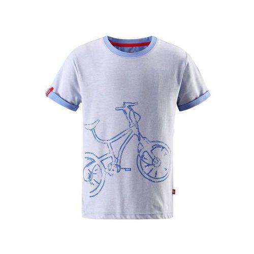 T-shirt koszulka Reima z krótkim rękawem Foili niebieski melanż (6416134586282)