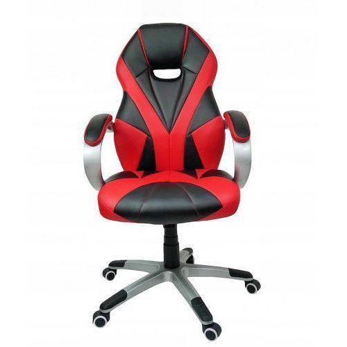 FOTEL do biurka komputera Gamingowy GTR, GTR red