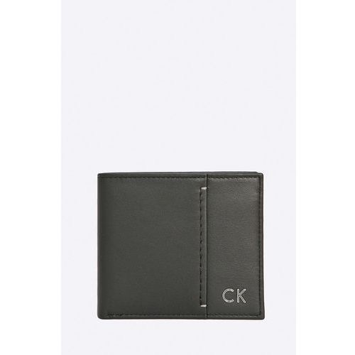 Calvin klein jeans  - portfel skórzany newton slimfold