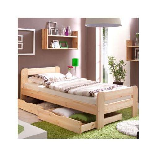 Ticaa kindermöbel Ticaa łóźko pojedyńcze bert 100 x 200, kolor naturalny (4250393855879)