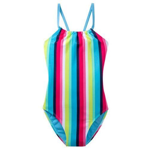 fb17d91341 Stroje kąpielowe dla dzieci · Bonprix Kostium kąpielowy dziewczęcy niebieski  ...
