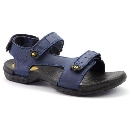Sandały Lesta 1096 niebieski, w 6 rozmiarach