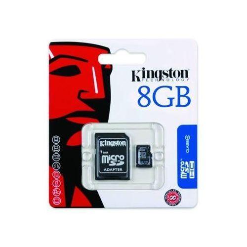 Karta pamięci Kingston microSDHC 8GB CLASS 4