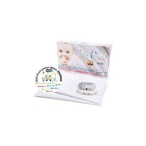 Baby control Monitor oddechu digital bc-220i dla bliźniaków biała