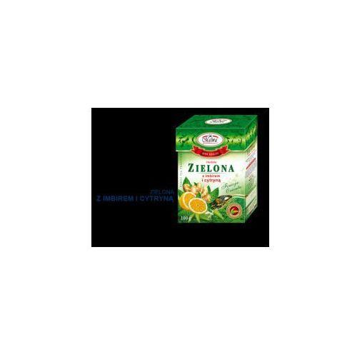 Malwa Herbata zielona z imbirem i cytryną 100 g (5902781001939)