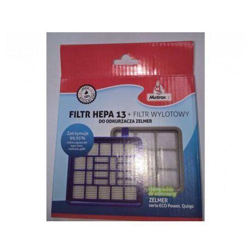 Metrox Filtr hepa13 + filtr wylotowy do odkurzaczy zelmer