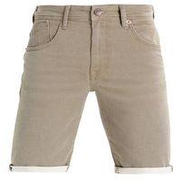 Petrol Industries SPRINGFIELD Szorty jeansowe dark tobacco, kolor brązowy