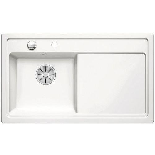 Blanco Zlewozmywak zenar 45s ceramika biały połysk lewa komora z korkiem infino (4020684689779)