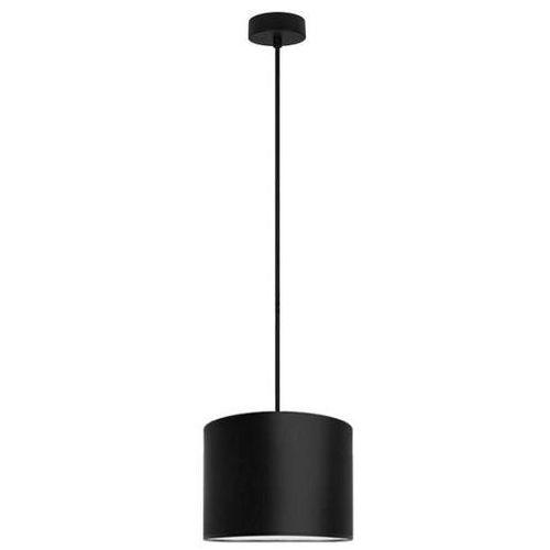 Klasyczna LAMPA wisząca MIKA S1/S/BLACK Sotto Luce abażurowa OPRAWA okrągła czarna, MIKA S1/S/BLACK