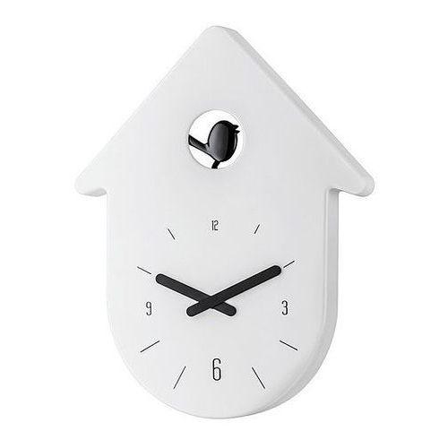 Zegar ścienny Toc Toc biały, kolor biały