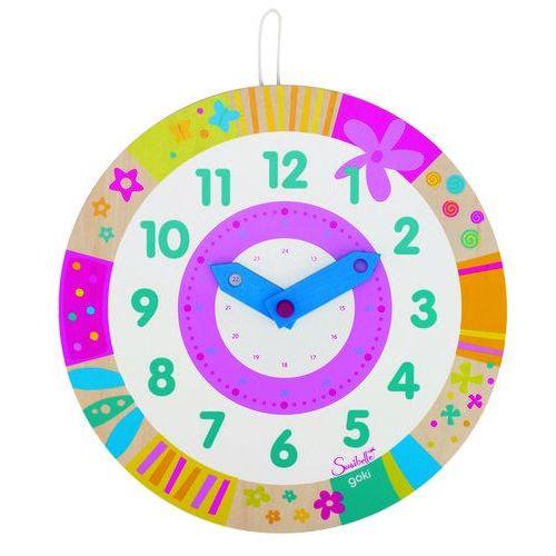 Goki Bajkowy zegar do nauki godzin,  58551 (4013594585514)
