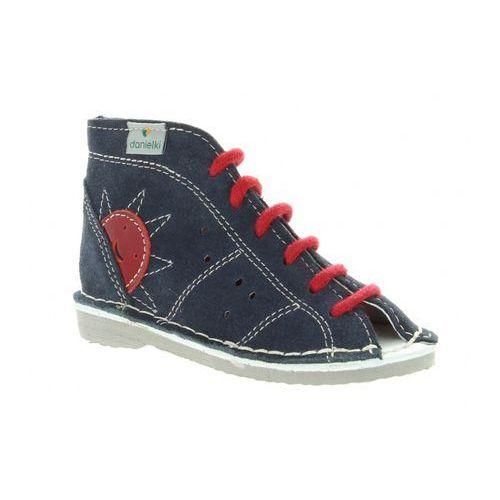 Buty profilaktyczne sznurowane wzór s26 granat marki Danielki