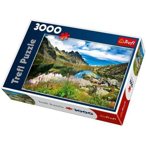 Puzzle 3000 Staroleśniański Staw, Tatry, Słowacja, AM_5900511330311